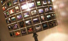 DIY Photo Slide Lamp Shade