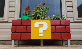 How to Build a Mario Planter Box