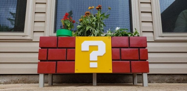How to Build a Mario Planter Box