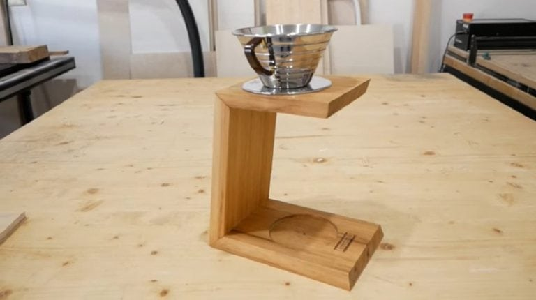 How to Build a Pour Over Coffee Stand