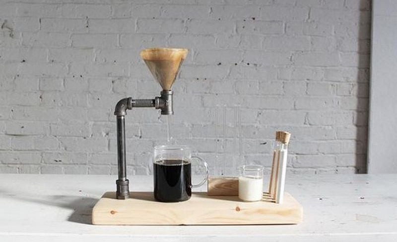 With this project, you can have your very own pour-over coffee stand today.