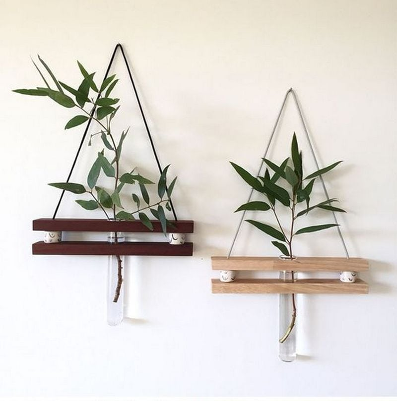 This is a great way to bring plants indoors.