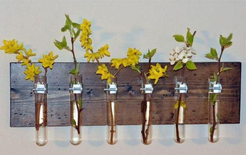DIY Test Tube Planter