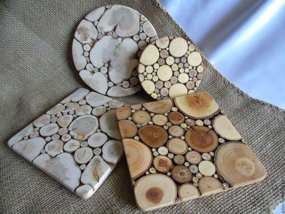 How to Make Sliced Wood Coasters