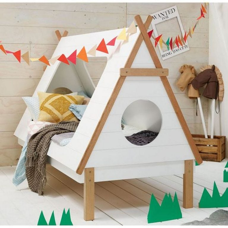 How to Build a Teepee Bed