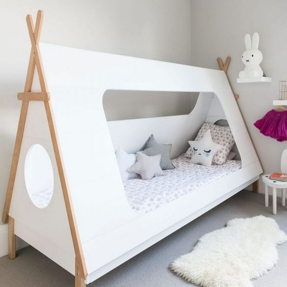 How To Build A Teepee Bed Diy Projects For Everyone