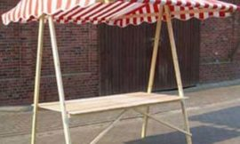 How to Build a Collapsible Farmers Market Stand