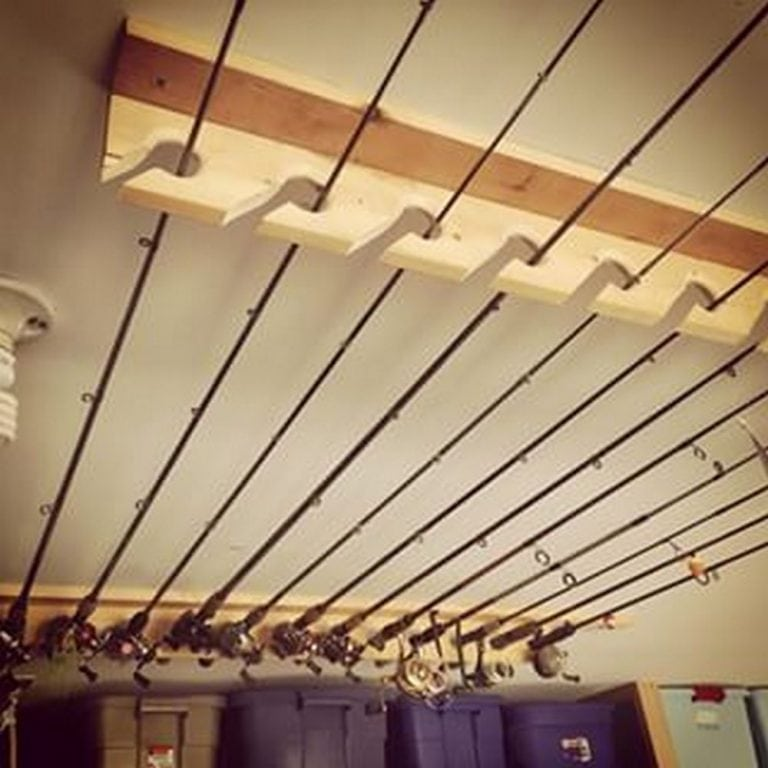 Build a Fishing Rod Rack for Only $25