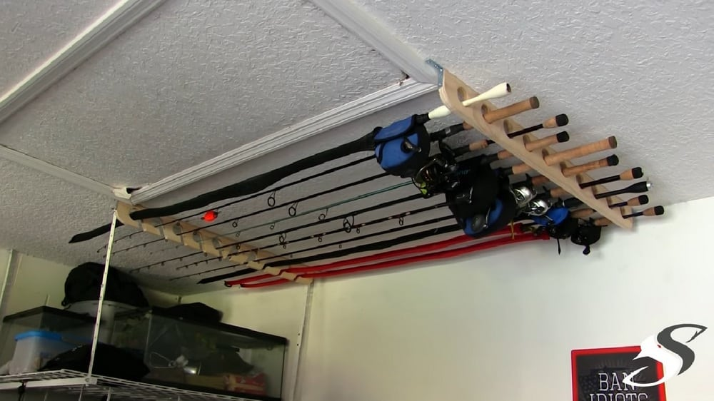 Build A Fishing Rod Rack For Only 25 Diy Projects For Everyone