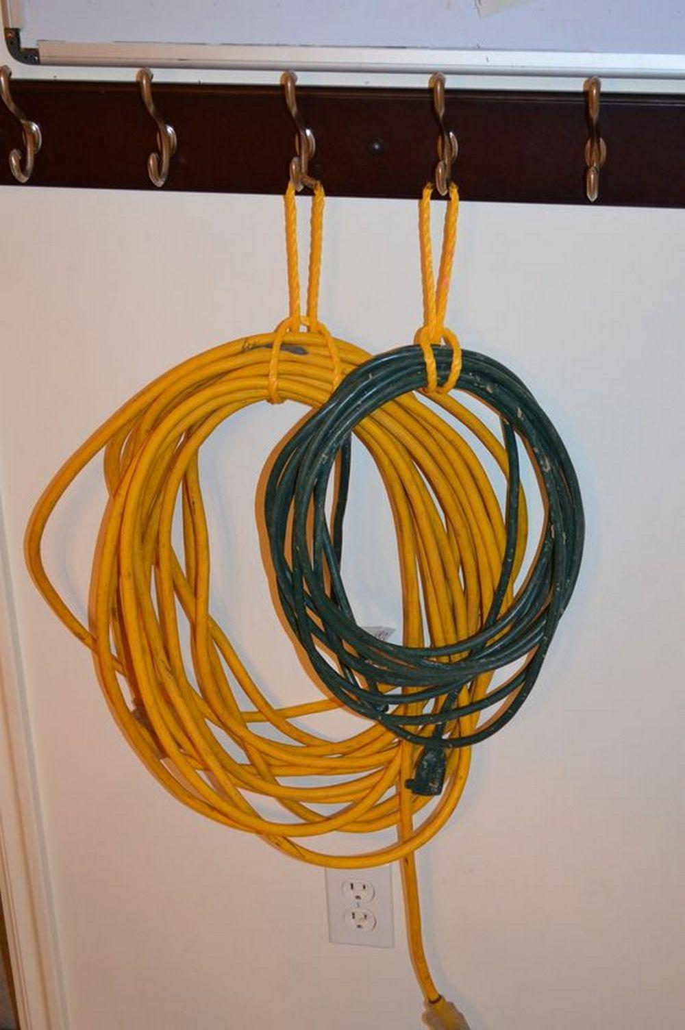 Diy Folding Extension Cord Organizer