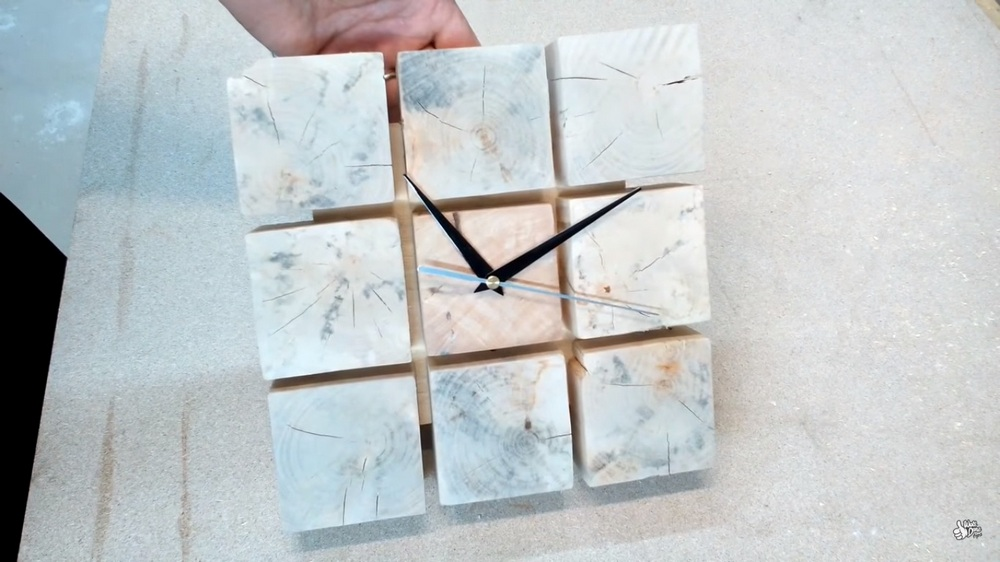 Simple and inexpensive, clocks like this one would make nice house warming gifts.