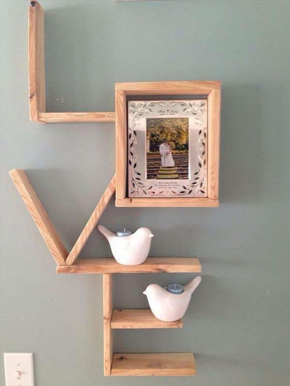 DIY Love Shelf