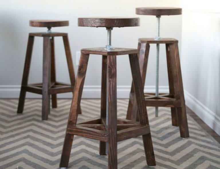 How to Build an Adjustable Height Stool