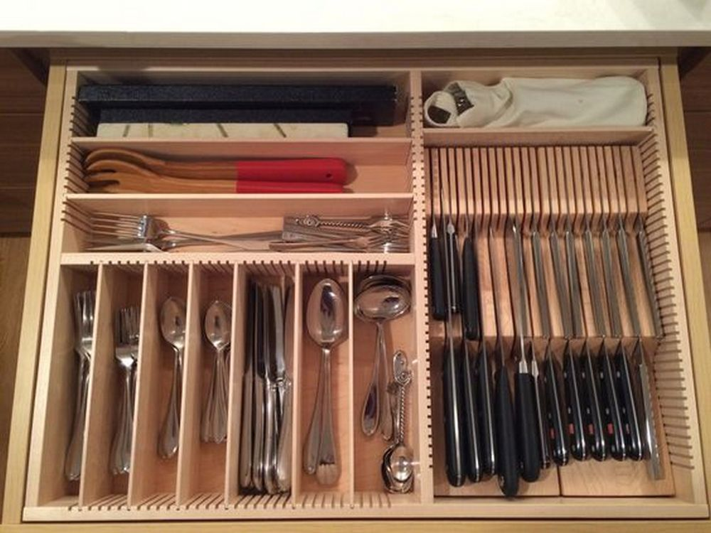 diy kitchen drawer organizer - diy projects for everyone!