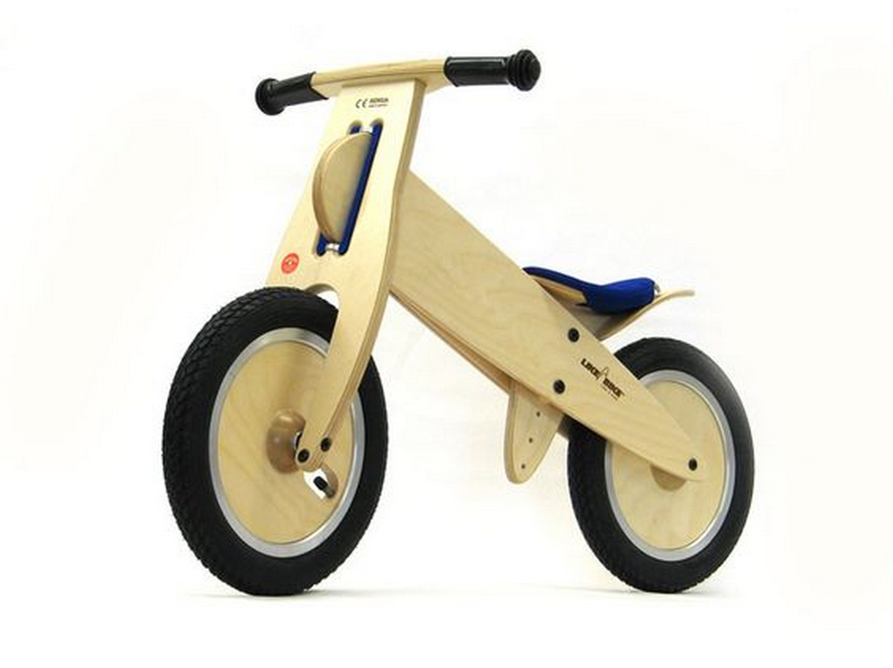 A balance bike would make it easier for a child to transition to the real thing.