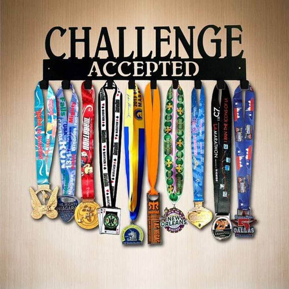 These medals are products of hard work - don't just stash them away!