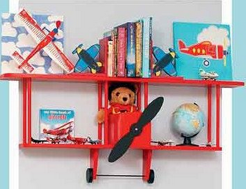 This doubles as a shelf and a wall decor.
