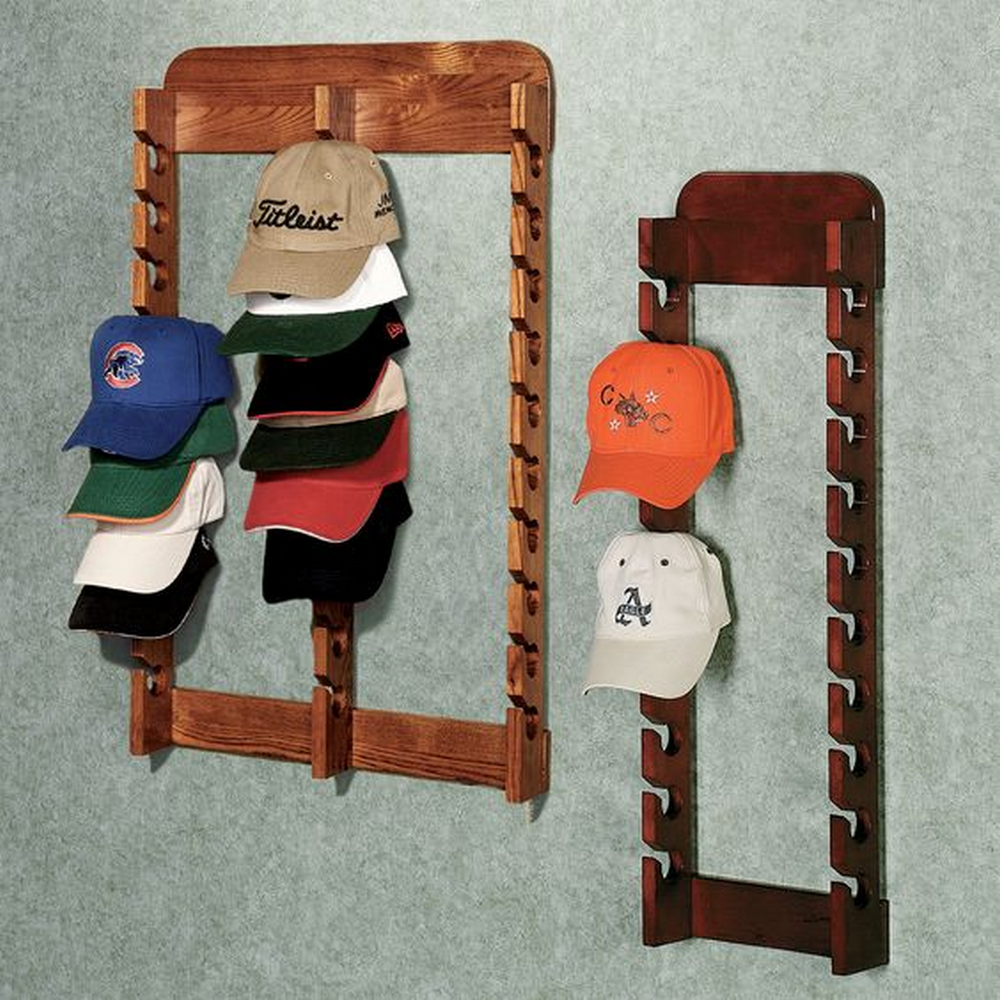 With its minimalist design, this rack doesn't take much space at all.