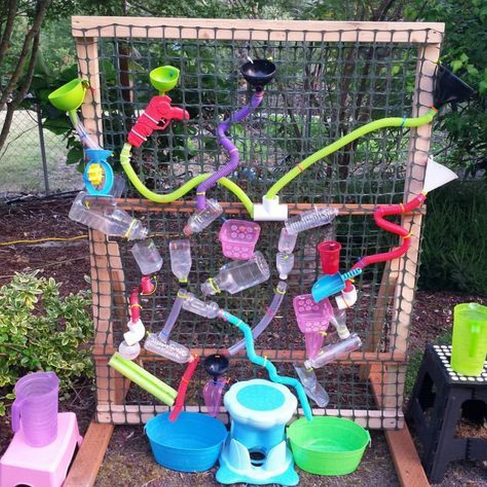 This is a great way to encourage the kids to play outdoors.