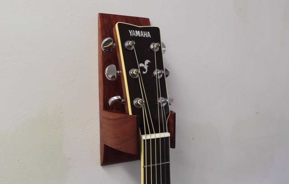 With a guitar hanger, you get to display your instrument and you also protect it from damage.
