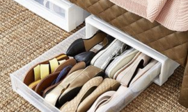 How to Build an Under Bed Shoe Organizer
