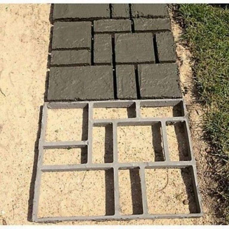 DIY Concrete Path Mold