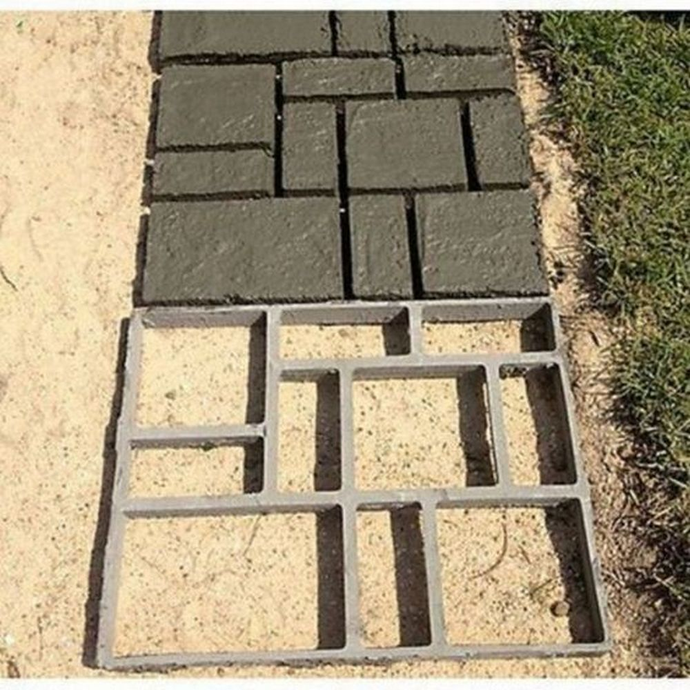 DIY Concrete Path Mold