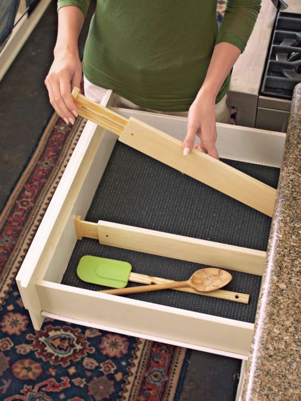 DIY Adjustable Drawer Dividers