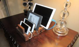 How to Build a Charging Station Organizer