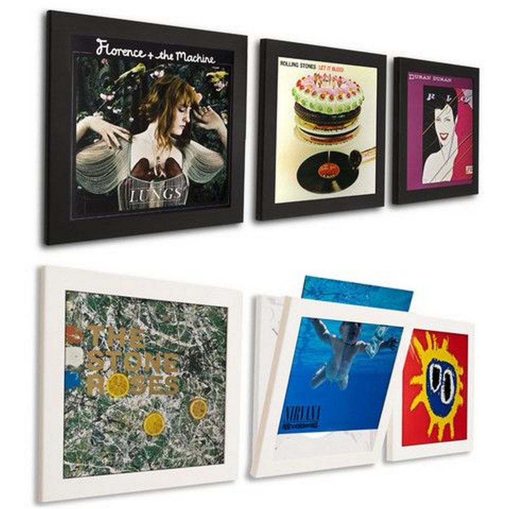 DIY Vinyl Record Frame