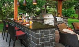 How to Design an Outdoor Kitchen Bar
