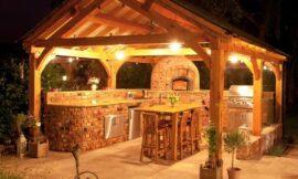 Outdoor Kitchen Bar Ideas