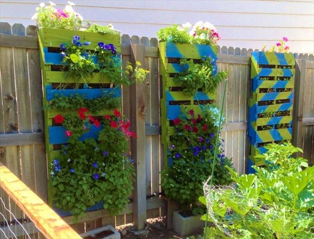 Add colour to your fence :)
